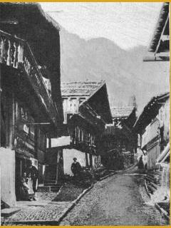 vergrössern: Gasse in Brienz.